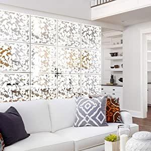 Biele obývacie steny a ich benefity