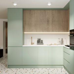 Malé kuchyně v různých barvách